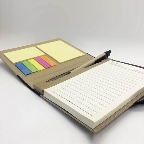 Cuaderno con accesorios
