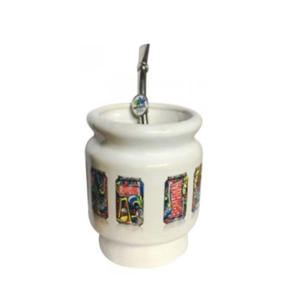 Mate cerámica Br