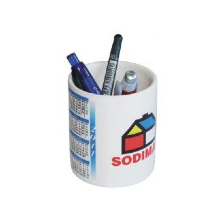 Porta lápices cerámica